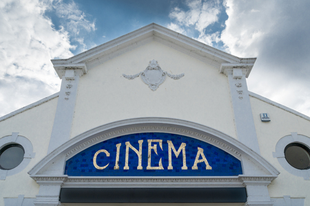 The old cinema in Saltgate, Beccles, Suffolk, UK