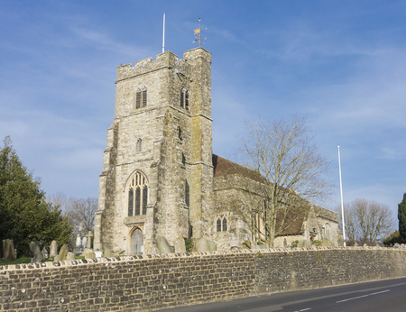 St Margaret's church in the village of Bethersden, Kent, UK Stock Photo