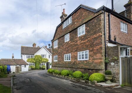Ancient Cottages in the small town of Winchelsea, East Sussex, Kent