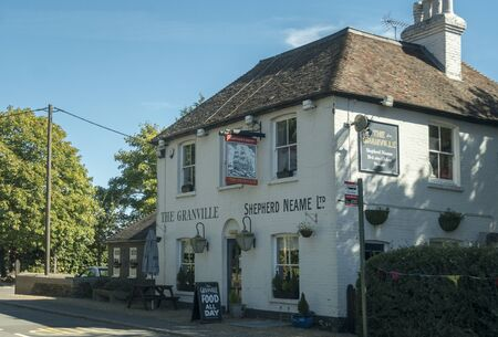 The Granville public house in the City of Canterbury, Kent, UK