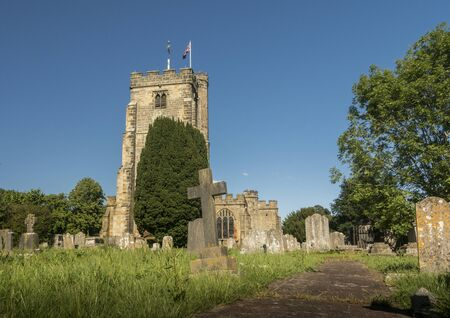 St Laurence Church in the ancient village of Hawkhurst, Kent, UK Фото со стока