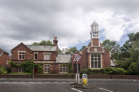 The old courthouse in the village of Hurst Green, East Sussex, UK Фото со стока