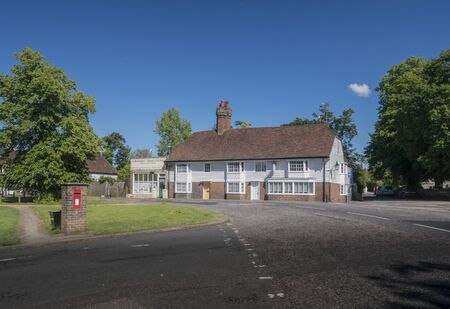 The Old Bakehouse circa 1500 and Parish Council Office at the Moor in the ancient village of Hawkhurst, Kent, UK