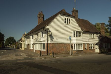 The Old Bakehouse circa 1500 in the ancient village of Hawkhurst, Kent, UK