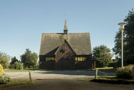 Saint Georges Church in the village of Broadoak, Heathfield,  East Sussex, UK