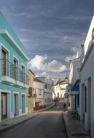 Street view of Alvor, Algarve, Portugal