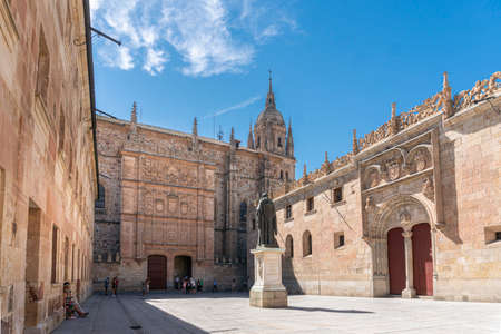 University of Salamanca  in the city of Salamanca, Spain 新闻类图片