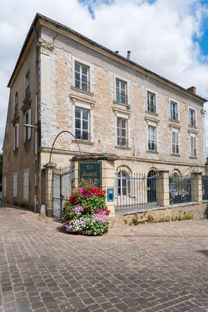 The Town of Sable sur Sarthe, France
