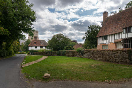 View of the village of Smarden, Kent, UK