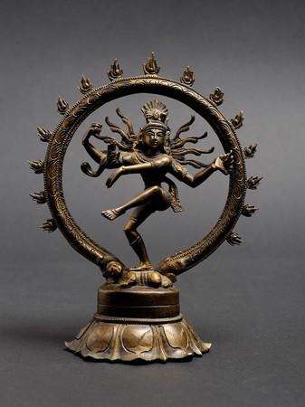 Statue of indian hindu god dancing Shiva Nataraja photo