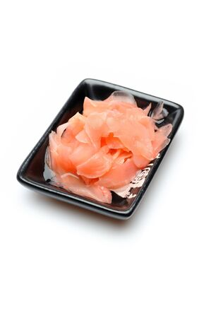 pink ginger ingredient for sushi . isolated Stock Photo - 11423194