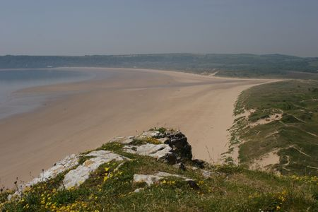 Oxwich Bay, the Gower, South Wales photo