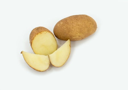 Russet Skin White Flesh Potato