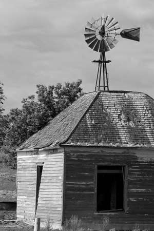 Kansas Old Windmill