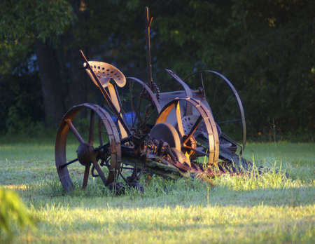 Old Hay Rake Reklamní fotografie