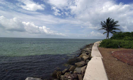 bill baggs: Bill Bags State Park - Lighthouse Sea Wall