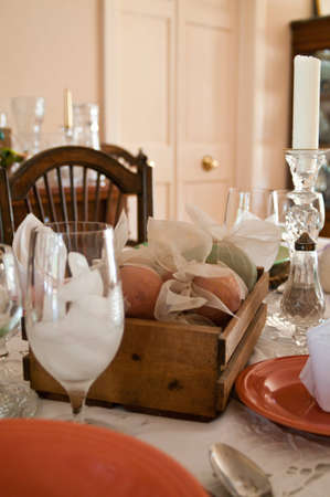 Country French Table Setting photo