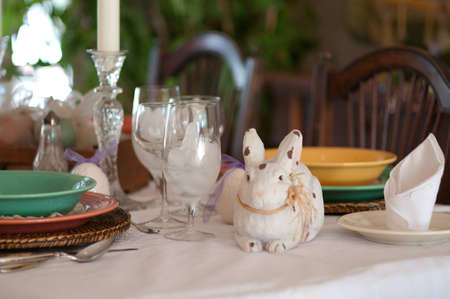 Rabbit and Glass photo
