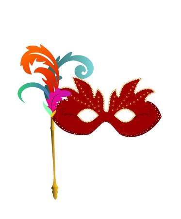 carnaval mask Vector