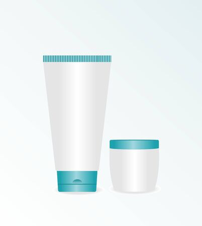 body fluid: Realistic illustration of cream cosmetic