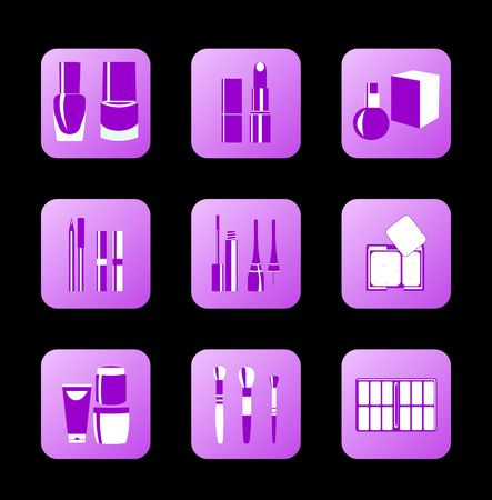 tampon: Cosmetic icons.