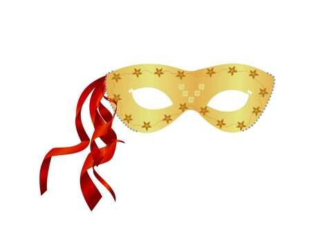 masked ball: realistic carnival mask