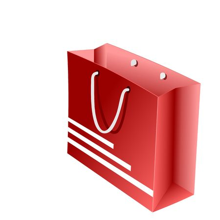 red packet: Realistic illustration of red packet for shopping