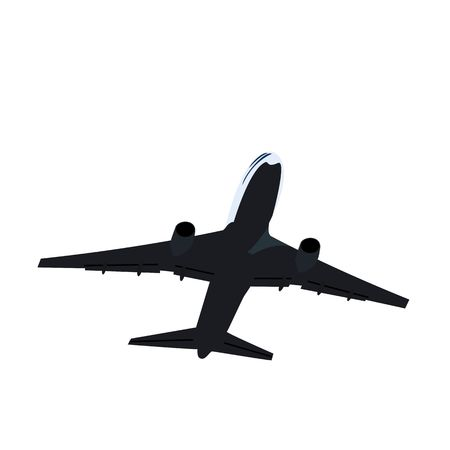 Realisic illustration airplane Vector