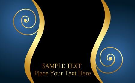 beautiful luxury card or invitation Stock Vector - 6968068