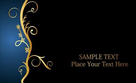 beautiful luxury card or invitation Stock Vector - 6968123