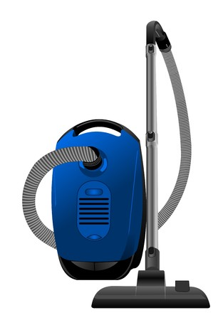 article icon: Realistic illustration of vacuum cleaner