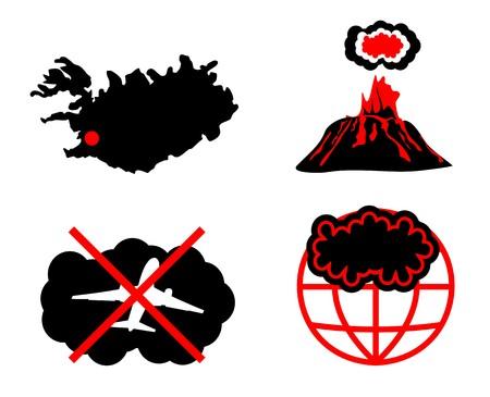 canceled: Cloud of volcanic ash