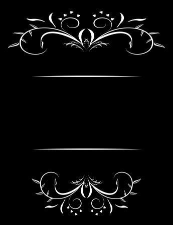 beautiful luxury card or invitation
