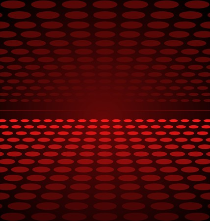 polyphony: Illustration abstract background red