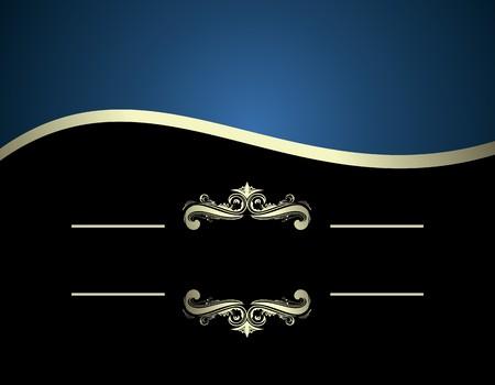 Illustration of luxurious invitation card Stock Vector - 7589262