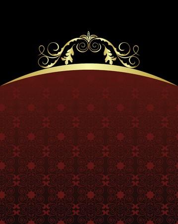 Illustration luxury background for design card Stock Vector - 7589862