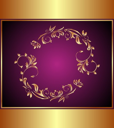 Illustration luxury background for design or packing  Vector