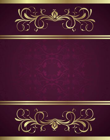 royal background: Illustration holiday background card for design