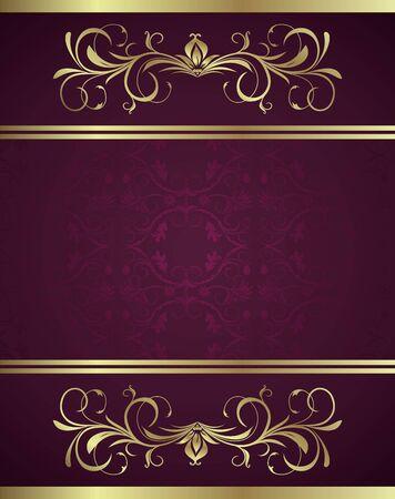 elegante: Illustrazione vacanza sfondo carta per il design Vettoriali