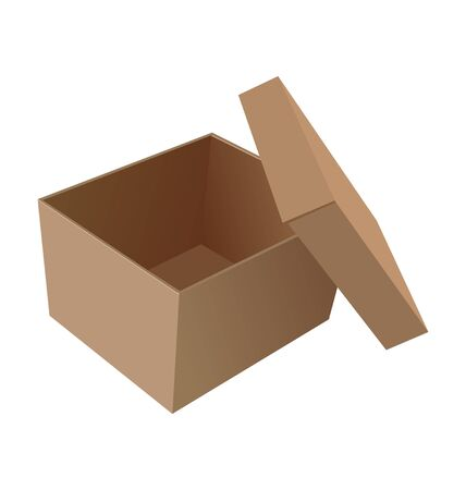 storage container: open box