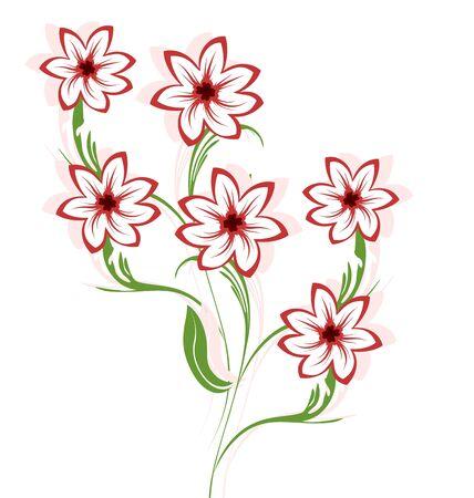 prerequisite: Illustration of beautiful flowers Illustration