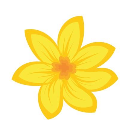 Cartoon afbeelding van bloemen