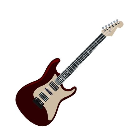 fender: Realistic illustration electric guitar Illustration