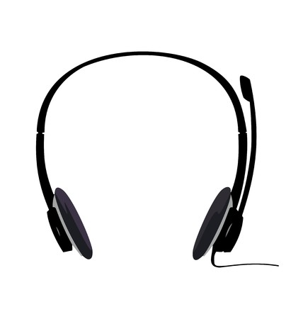 Realistic illustration of headset Stock Vector - 7588899