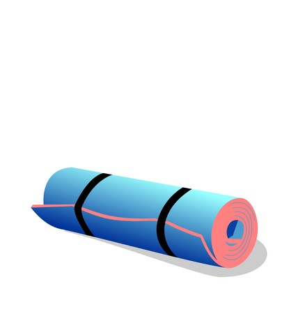 spandex: Realistic illustration of  spandex mat