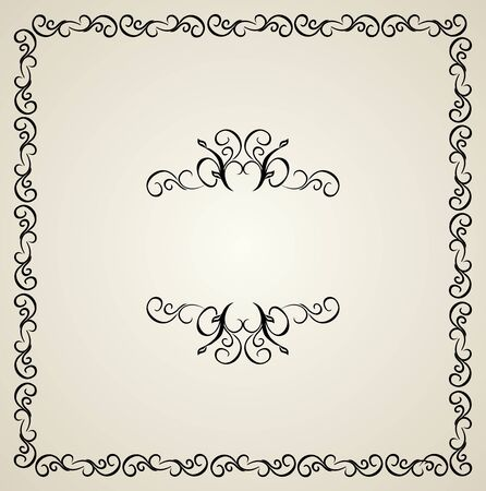Illustration vintage background card for design Stock Vector - 7589695