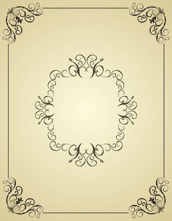 Illustration vintage background card for design  Stock Vector - 7589446