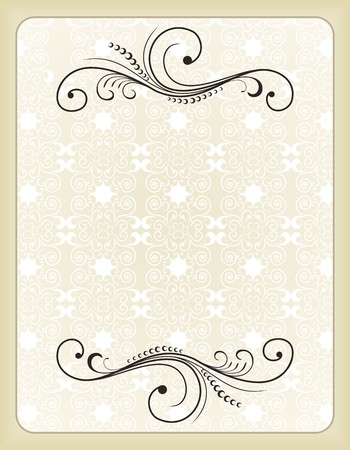 Illustration vintage background card for design  Stock Vector - 7589777
