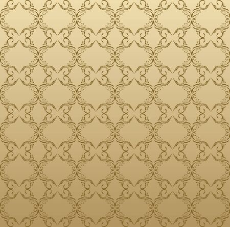 Illustration of modern seamless geometrical composition Illustration