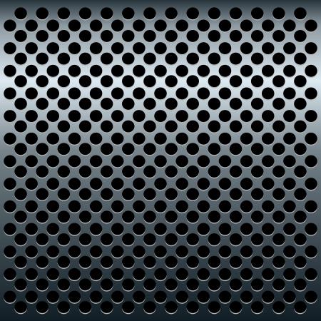 Ilustracja z tytanu metaliczne tekstury projektowania